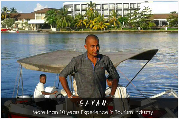 Gayan - Sri Lankan Tour Guide