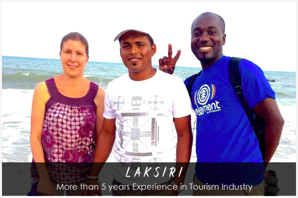 Laksiti - Sri Lankan Tour Guide