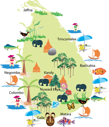 Sri Lanka Holiday Destinations