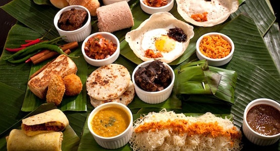 Sri Lankan Cuisine - Rice and Curry