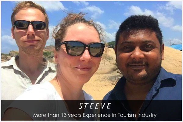 Steeve - Sri Lankan Tour Guide