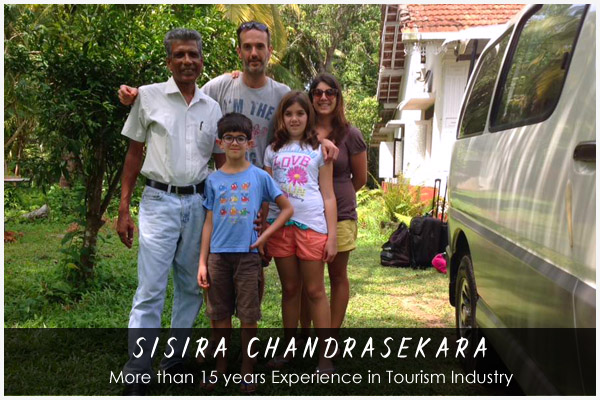 sisira - Sri Lankan Tour Guide